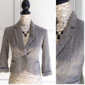 Anthropologie Tabitha Gray Blazer Size 2
